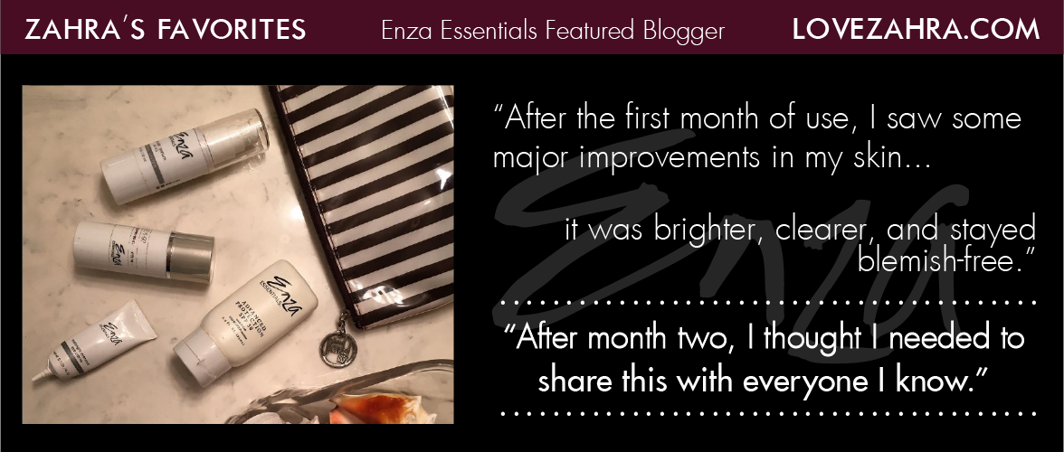 Love Zahra's Enza Essentials Review