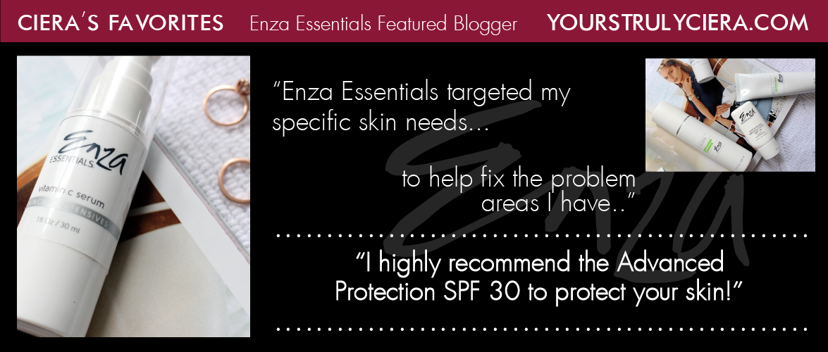 Yours Truly, Ciera Enza Essentials Review