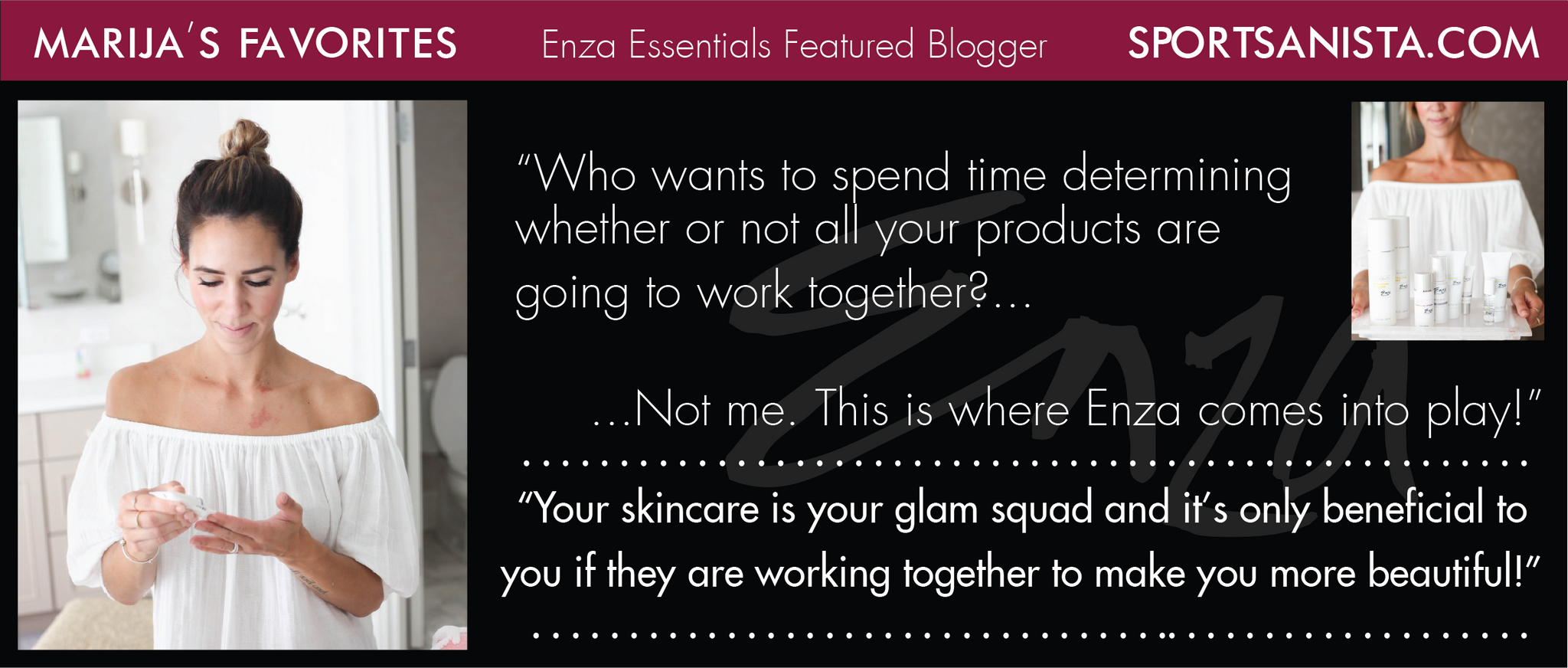 Sportsanista Marija's Enza Essentials Review
