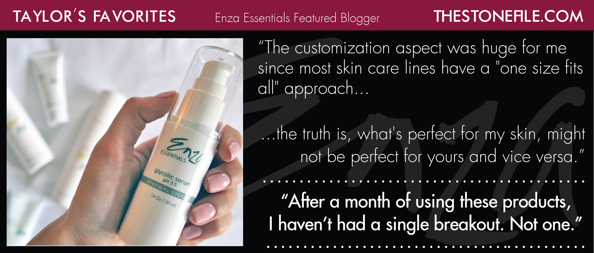 The Stone File Taylor Enza Essentials Review