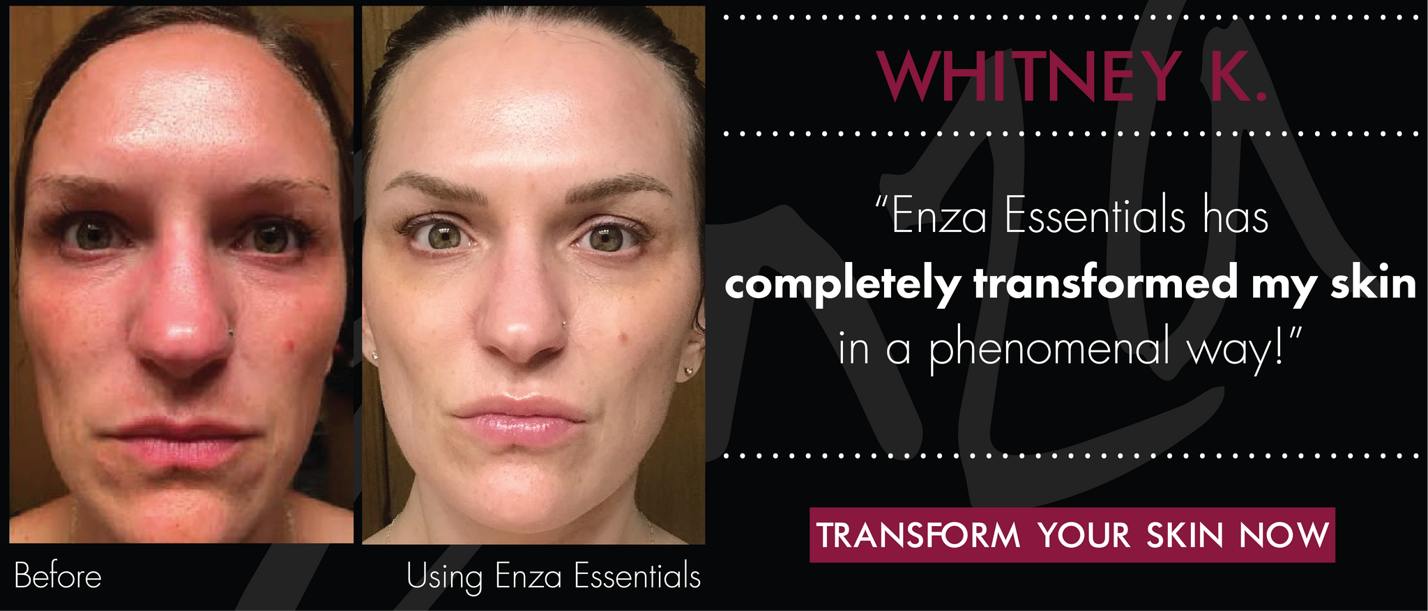Whitney Enza Essentials Featured Customer
