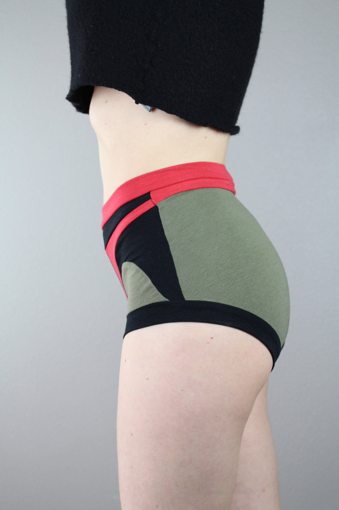 Boba Fett High Waist Panties, Pop Culture, Color Block