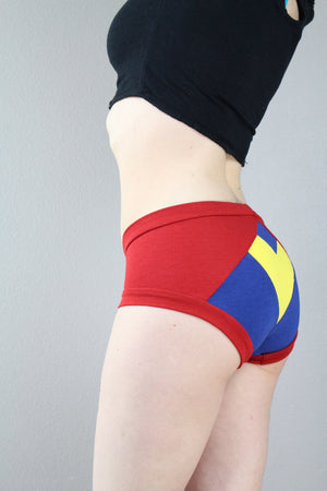 Heart Your Superhero, Supergirl, Panties, Pop Culture