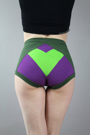 Heart Your Superhero, She-Hulk, High Waist Panties, Pop Culture