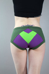 Heart Your Superhero, She-Hulk, Panties, Pop Culture