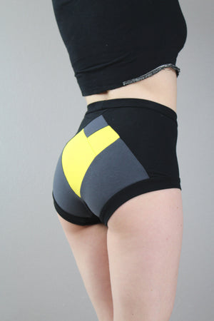 Heart Your Superhero, Batgirl, High Waist Panties, Pop Culture