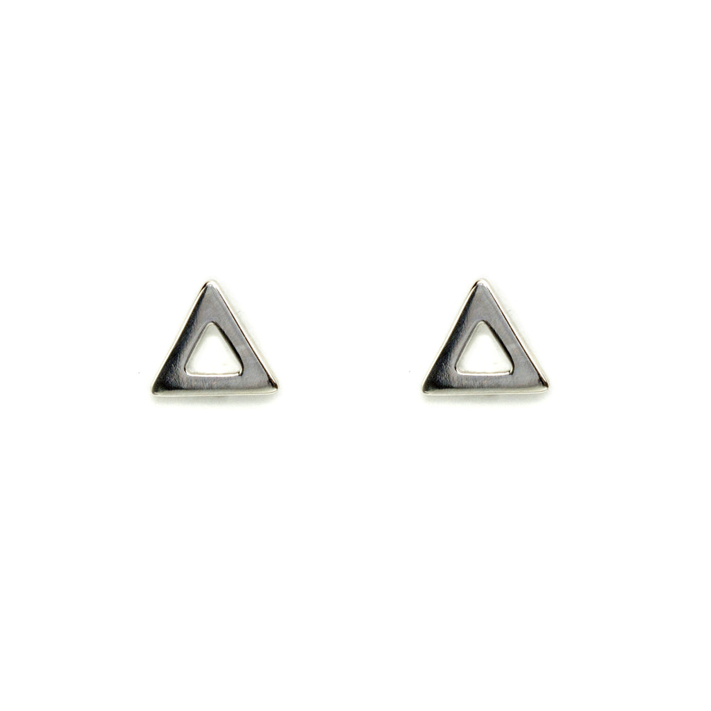 Open triangle stud