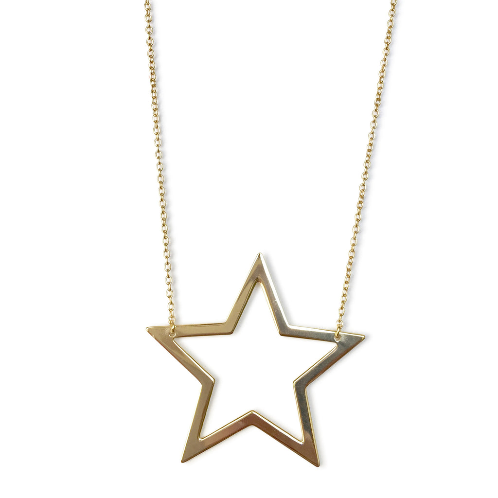 star chain silver bling necklace in sterling inches with patriotic jewelry pendant az n