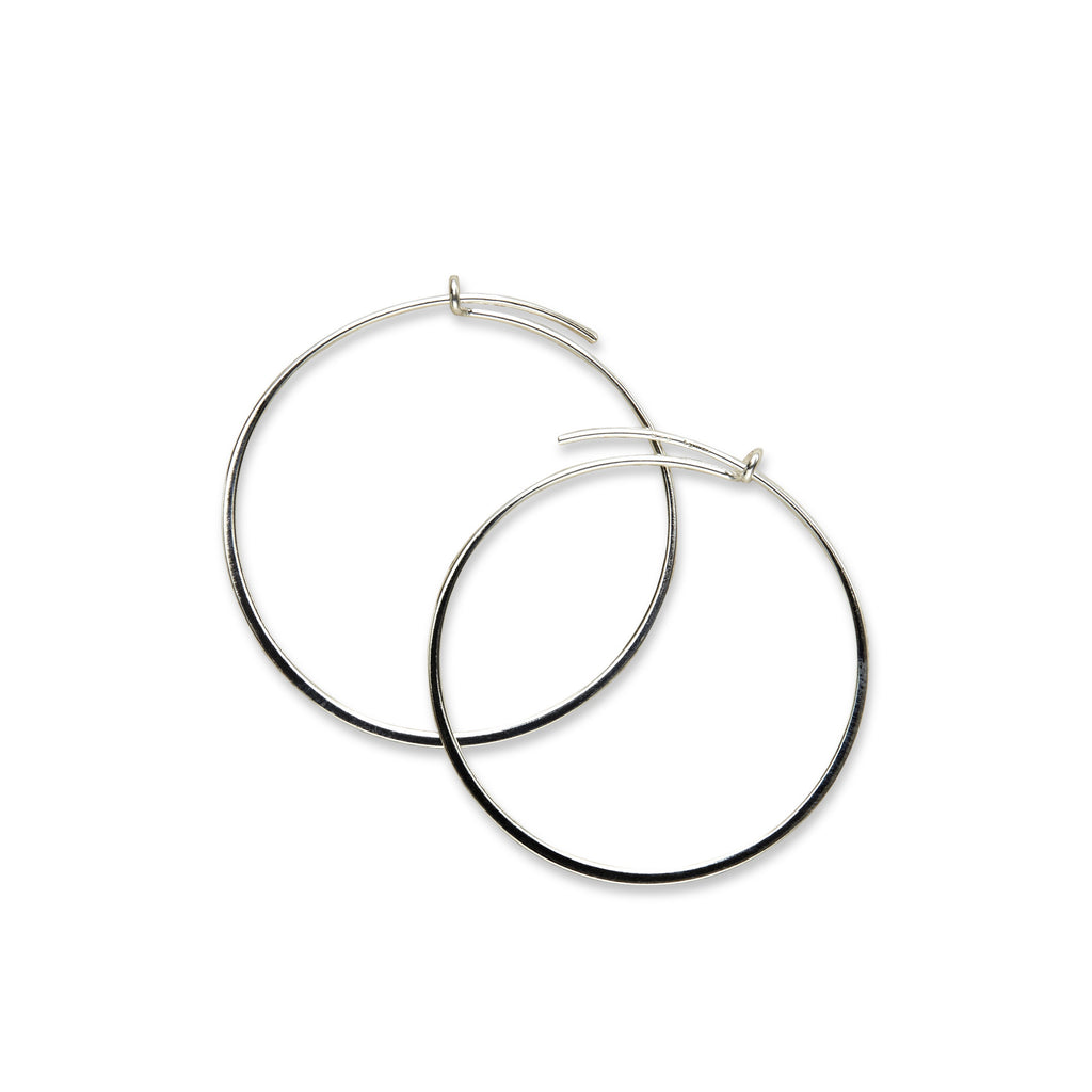 Medium thin hoop