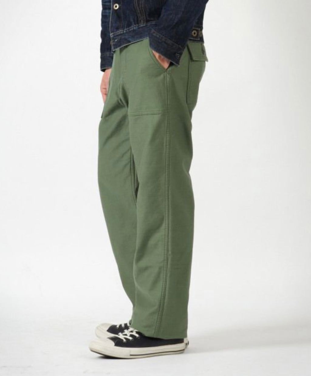 JAPAN BLUE JEANS - MODERN MILITARY BAKER PANTS
