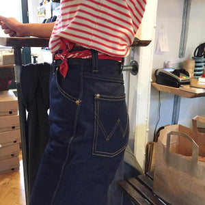 Western Zipper Denim Jeans