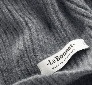 LE BONNET - WOOL BEANIE / SLATE GREY