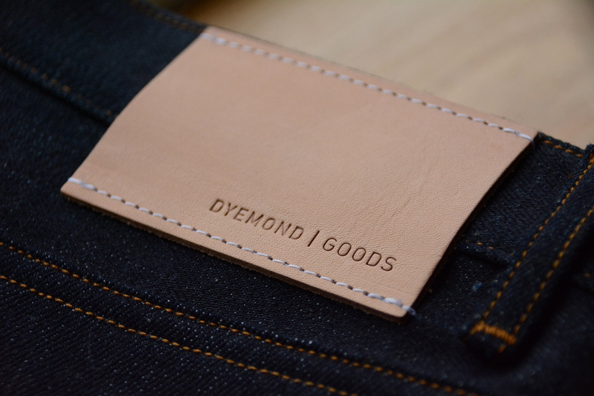 DYEMOND GOODS - RT01 JEANS 13,5 OZ. / DEEP INDIGO