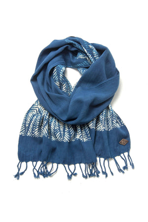 Indigo People - Feza Scarf / Mud Print