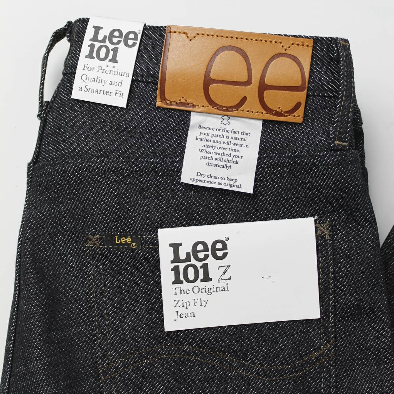 LEE 101 - MEN´S 101 Z RELAXED FIT HEAVYWEIGHT JEANS IN DRY - 21oz