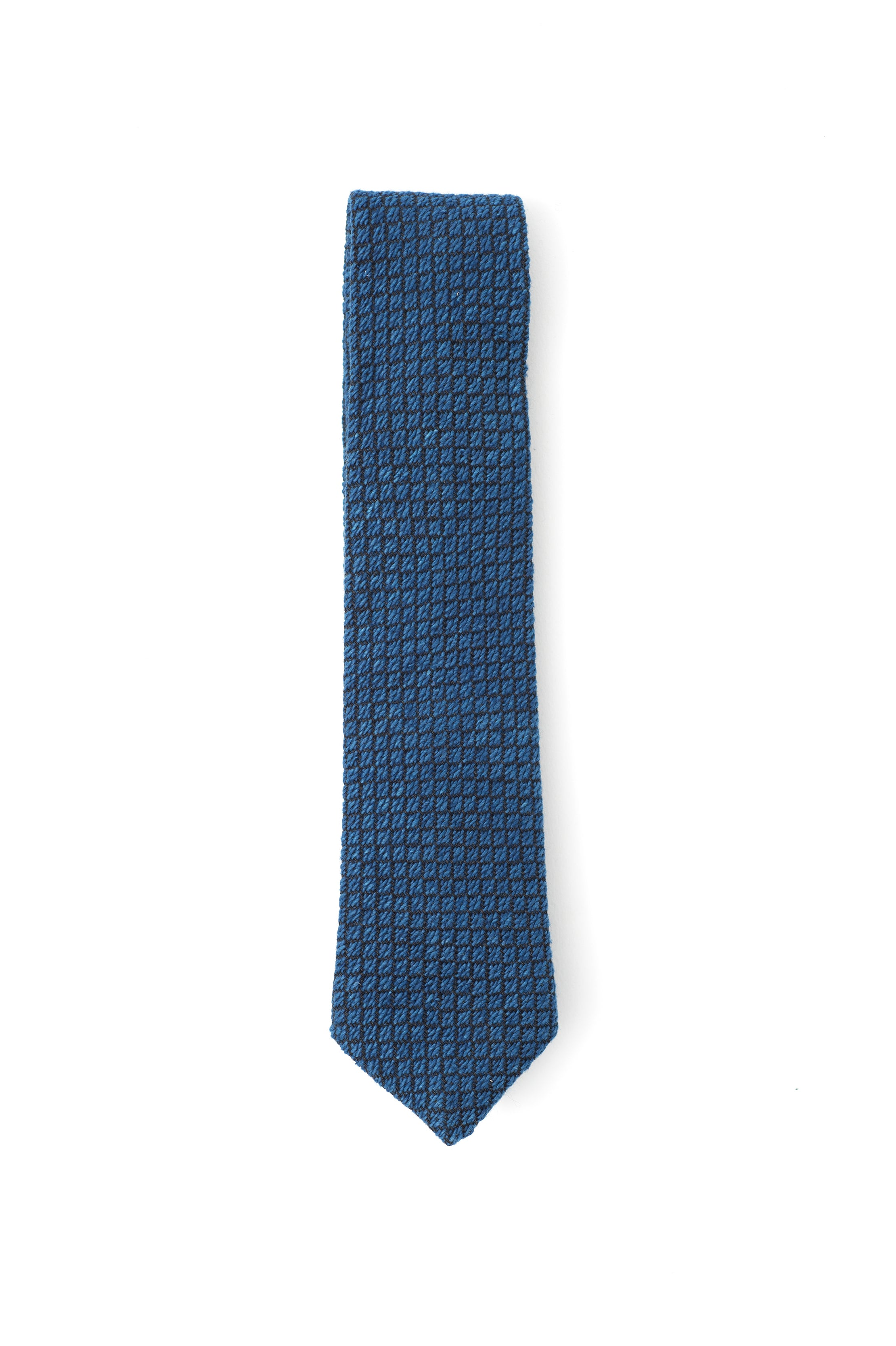 INDIGO PEOPLE - DIAMONDS NECKTIE – HAND LOOMED