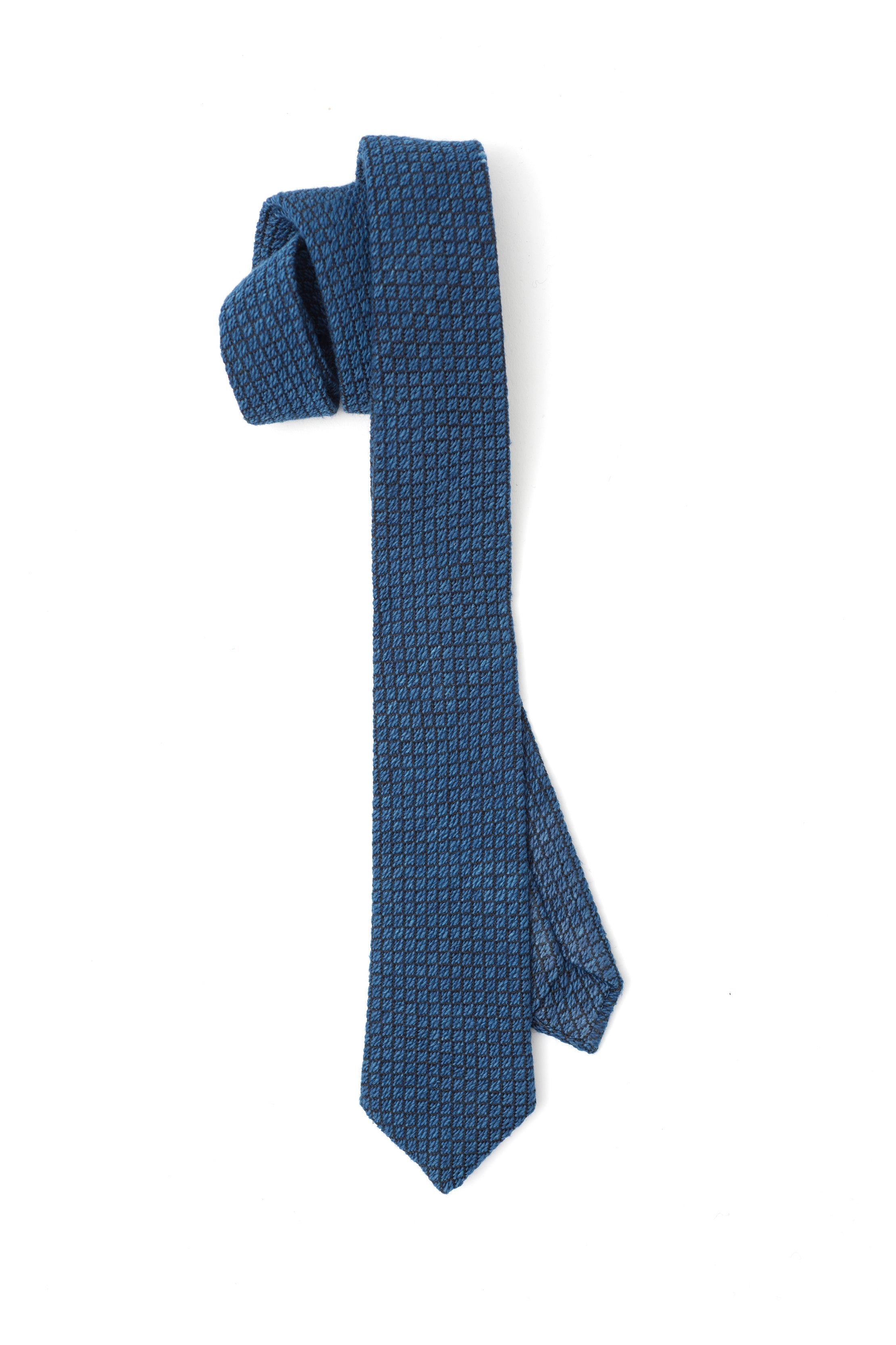 DIAMONDS NECKTIE – hand loomed