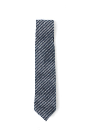 RAIL NECKTIE – hand loomed stripes