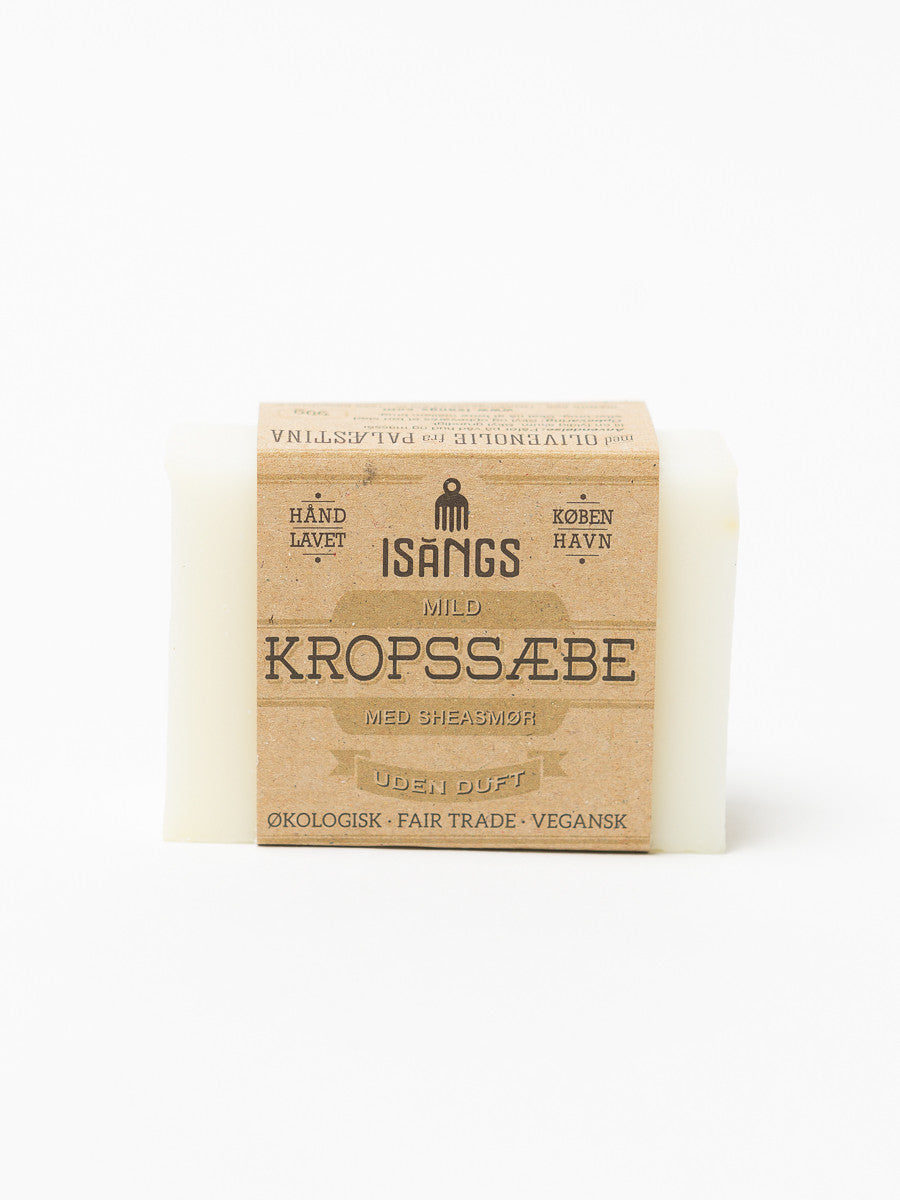 ISANGS - MILD SHEA BUTTER BODY SOAP