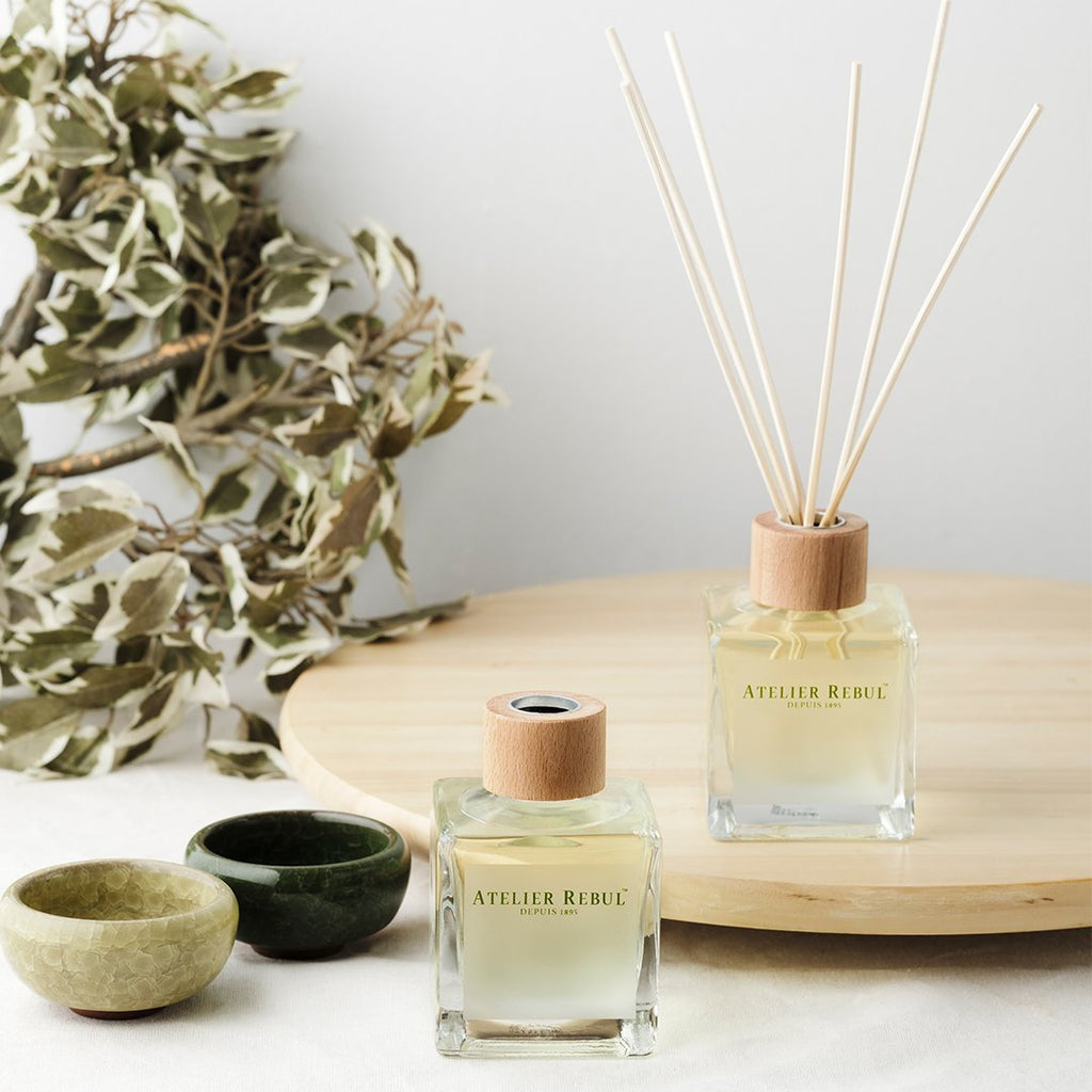 ATELIER REBUL-REED DIFFUSER/ GREEN TEA - 120ML