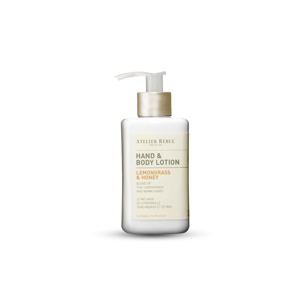 ATELIER REBUL -HAND & BODY LOTION / LEMONGRASS & HONEY - 250ML