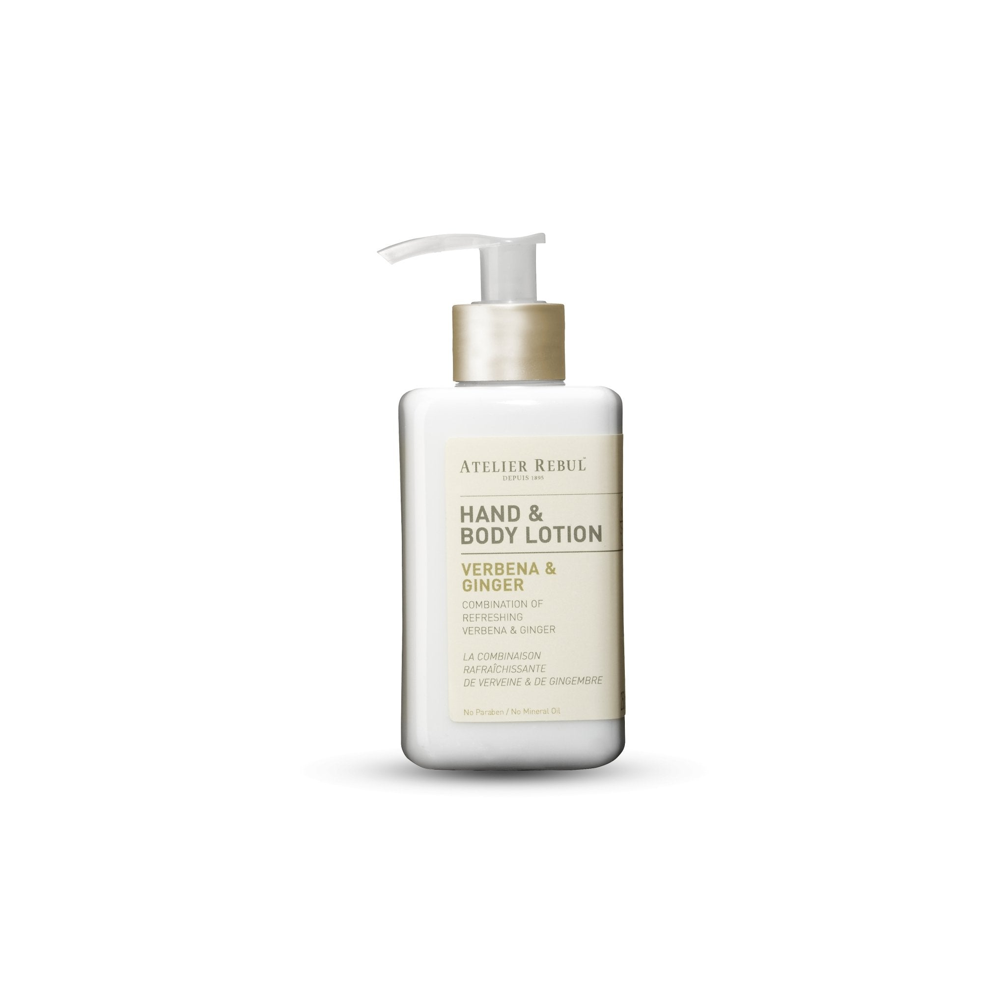 ATELIER REBUL -HAND & BODY LOTION / VERBENA & GINGER- 250ML