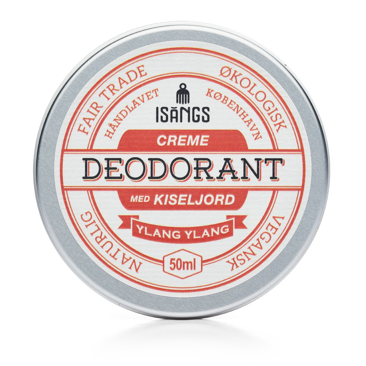 ISANGS - CREAM DEODORANT WITH SILICON SOIL