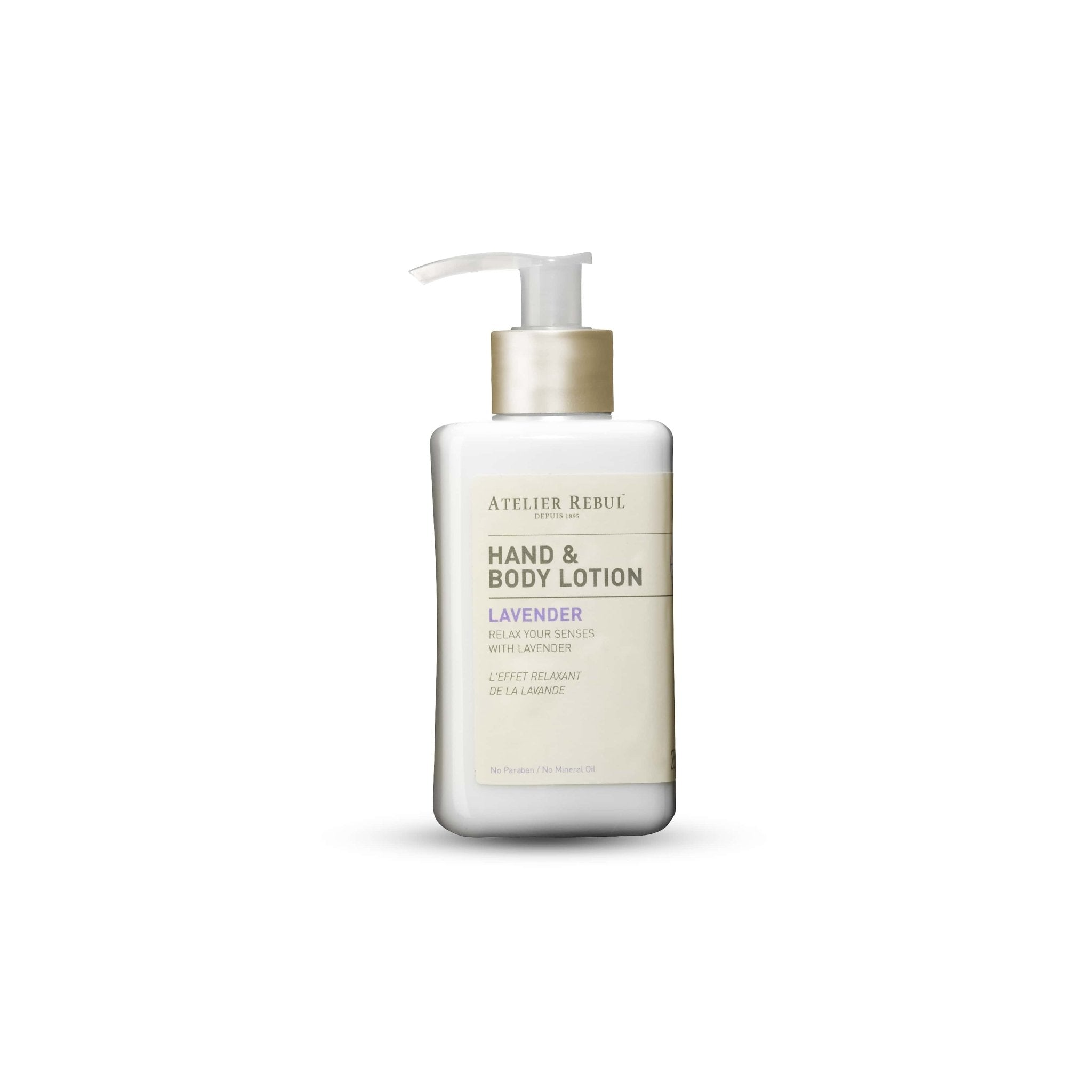 ATELIER REBUL -HAND & BODY LOTION / LAVANDER - 250ML