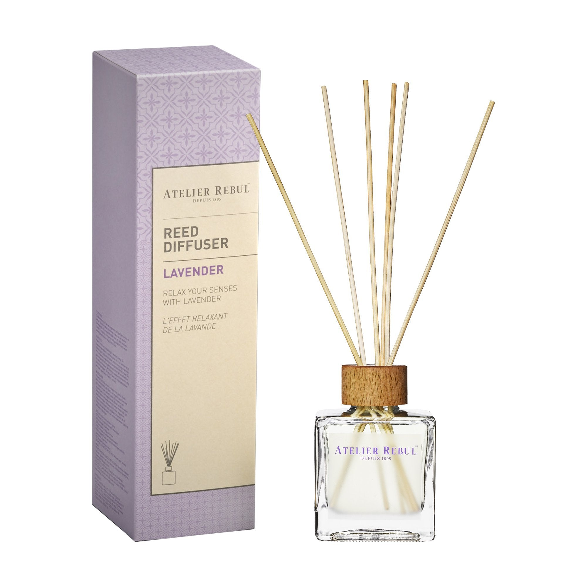 ATELIER REBUL-REED DIFFUSER/ LAVENDER - 120ML