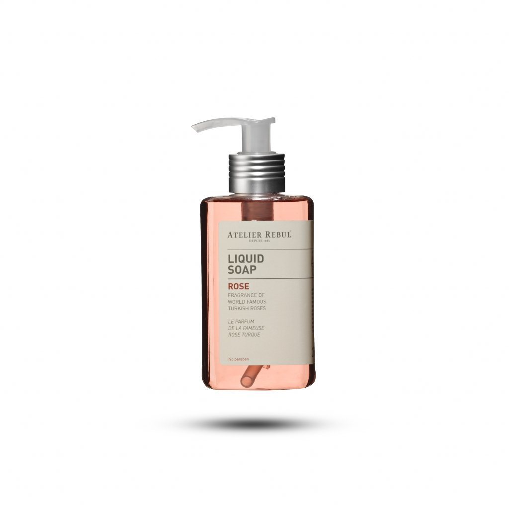 ATELIER REBUL -LIQUED SOAP / ROSE - 250 ML.