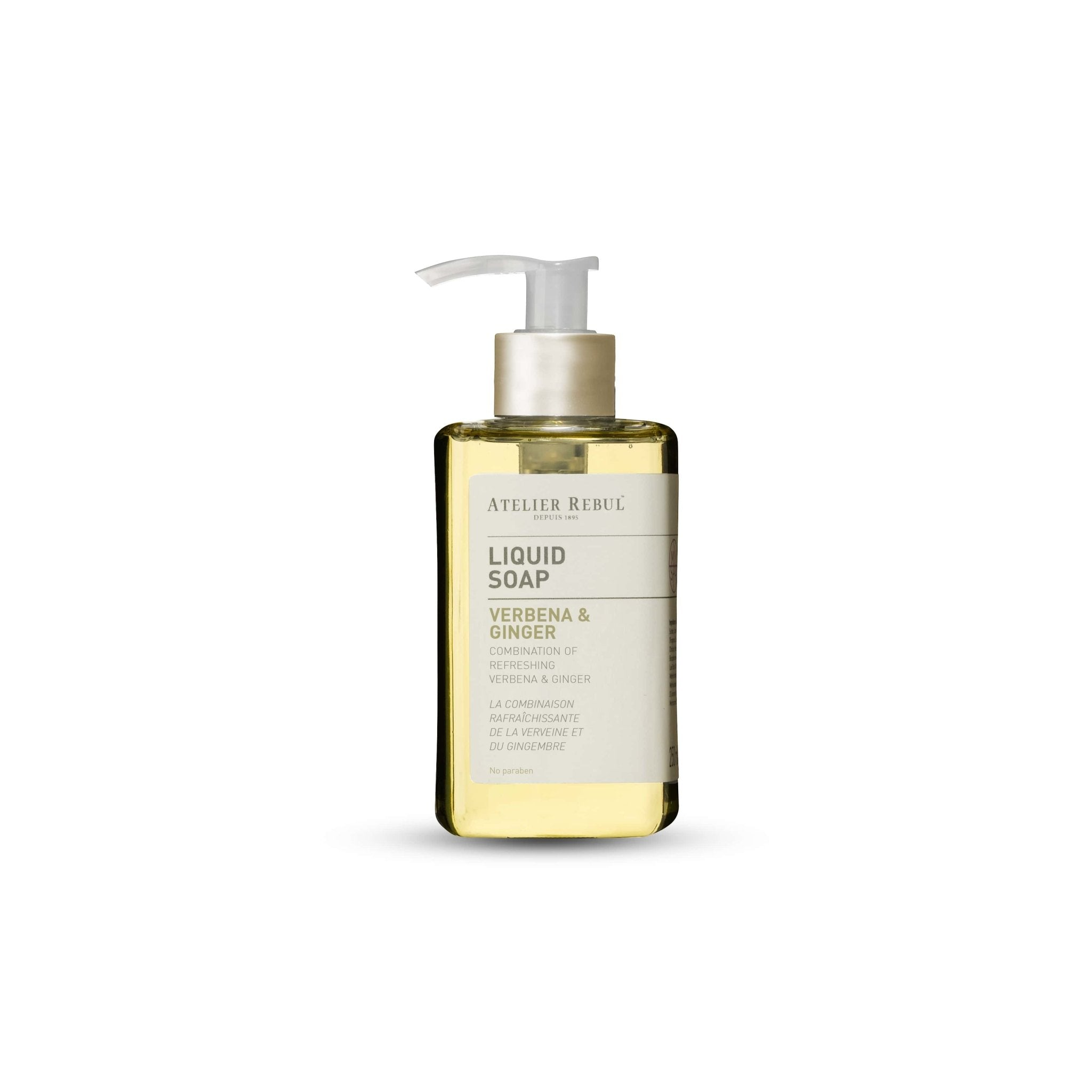 ATELIER REBUL -LIQUED SOAP / VERBENA & GINGER - 250 ML.