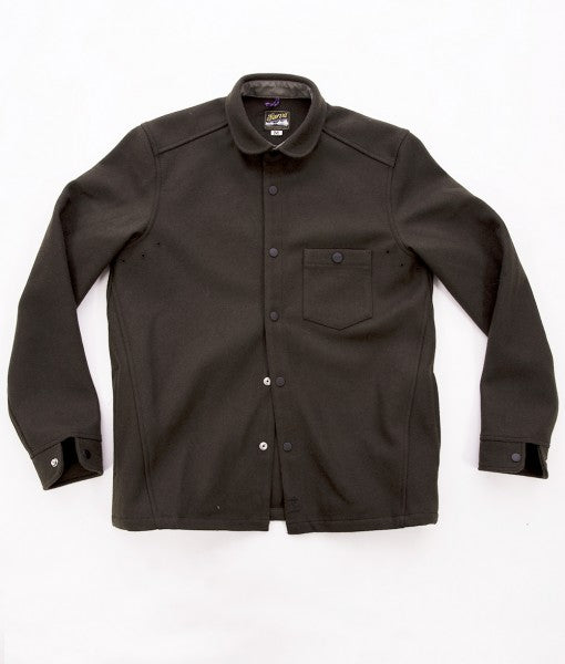 Sarva Wool Shirt / Army Green