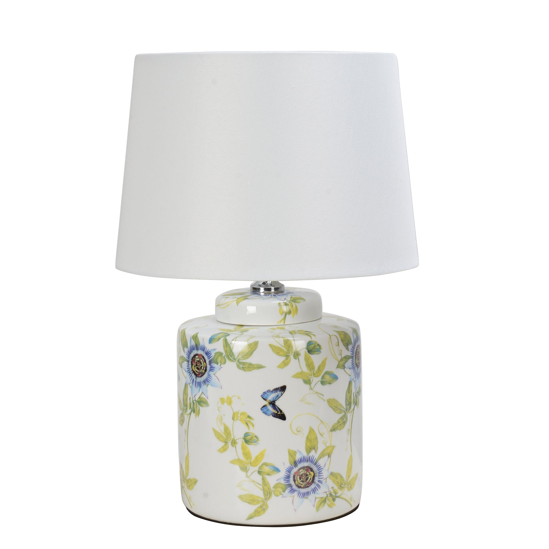BLUE PASSION CYLINDER LAMP SHORT 23.5""