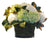 HYDRANGEA PLANTER (DP714-WHGR) - Winward Home faux floral arrangements