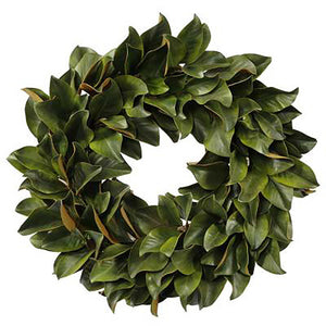 MAGNOLIA LEAF WREATH 36""