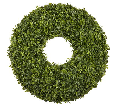 JAPANESE BOXWOOD DELUXE WREATH 30""