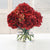 HOLIDAY HYDRANGEA IN GLASS - Winward Home silk flower arrangements