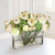 RANUNCULUS AND ROSE MIX (WHD074.CRPK ) - Winward Home faux floral arrangements