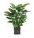 BANANA LEAF IN SQ PLANTER (LG) (WHD100.GR ) - Winward Home faux floral arrangements