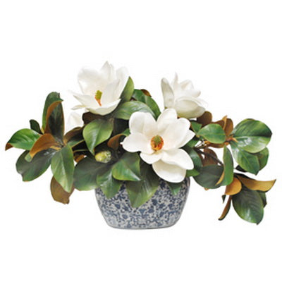 MAGNOLIA CENTERPIECE (WHD138-WH)