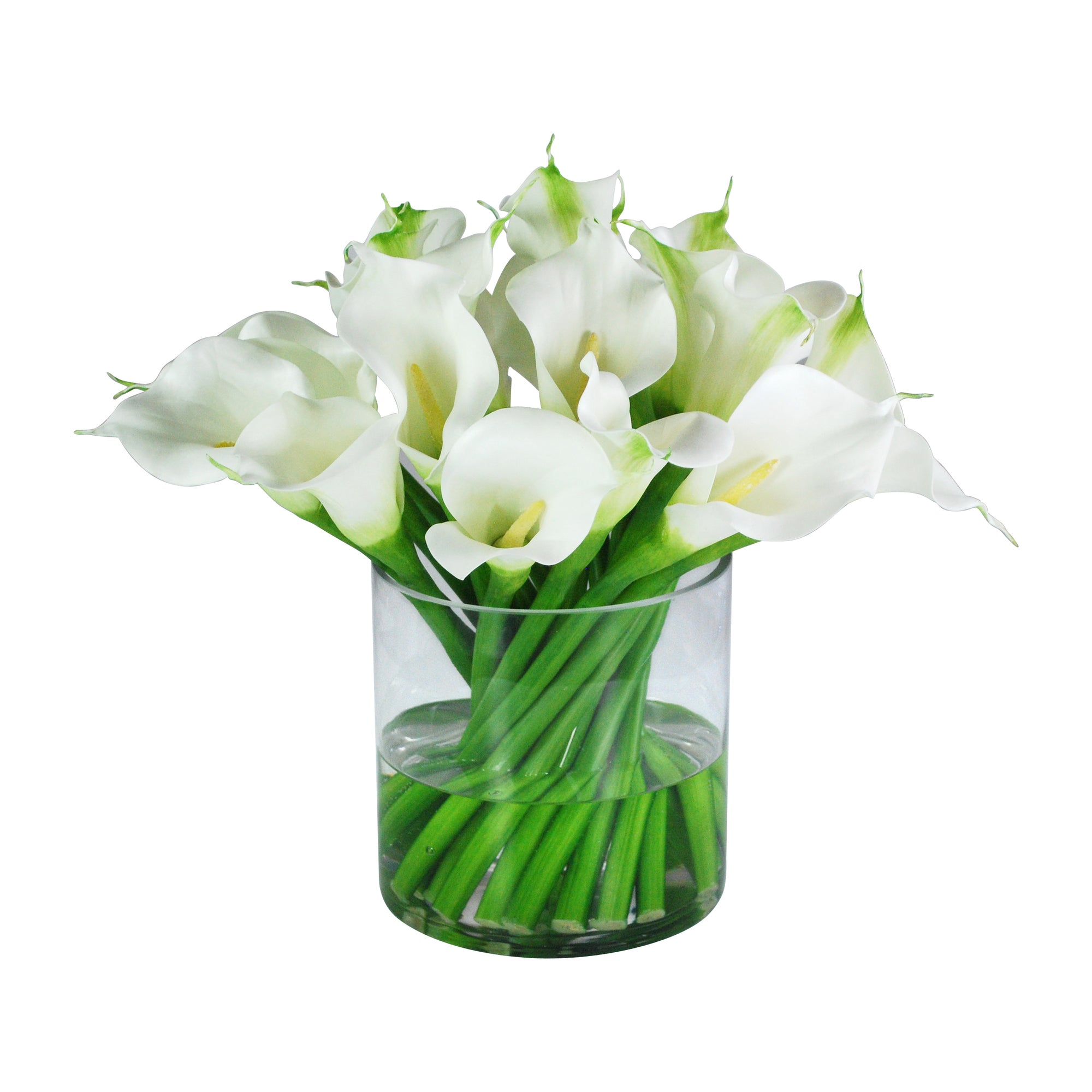 CALLA LILY IN VASE (WHD310-WH)