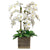 ORCHID IN ANTIQUE VASE 36""