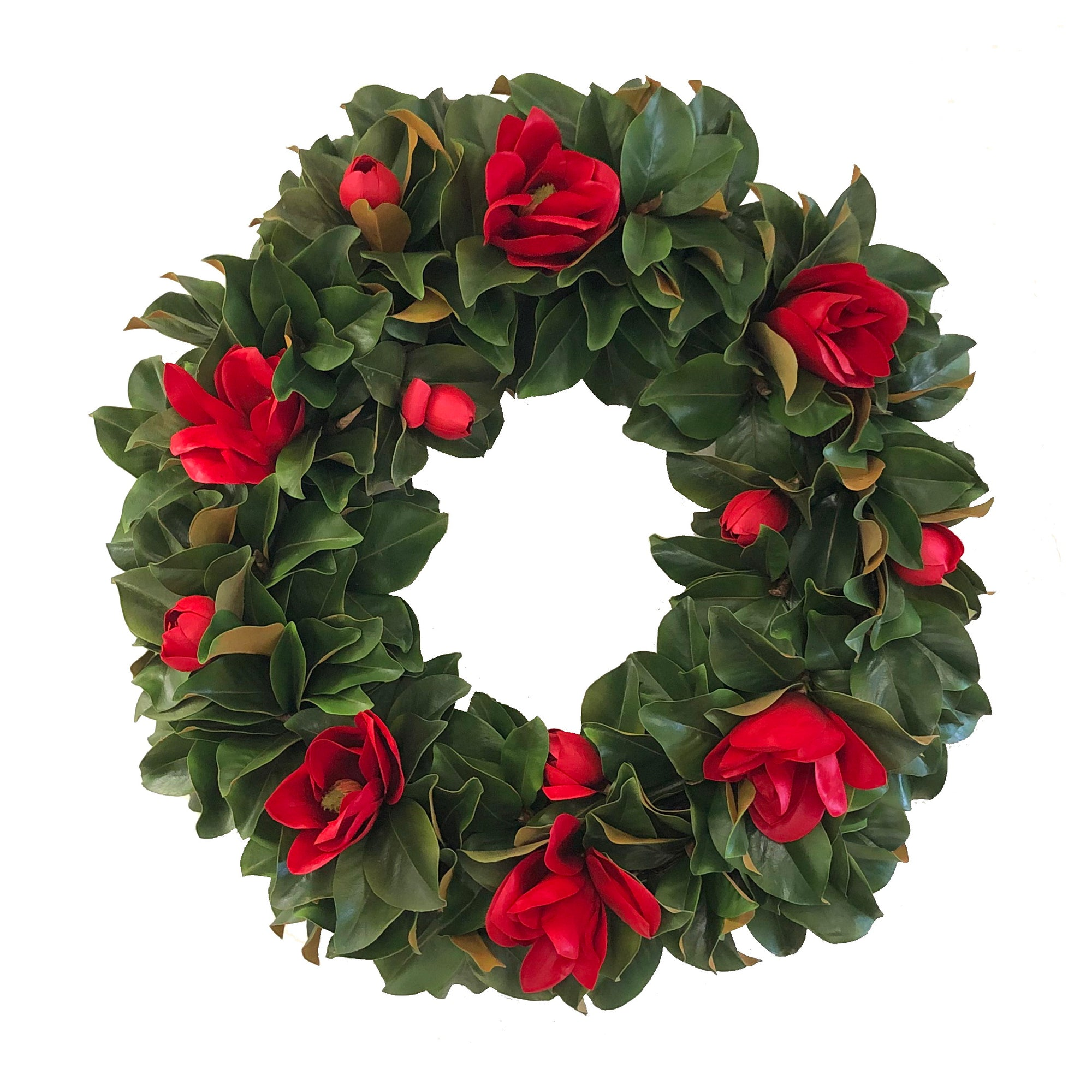 DELUXE MAGNOLIA MIX WREATH 36''