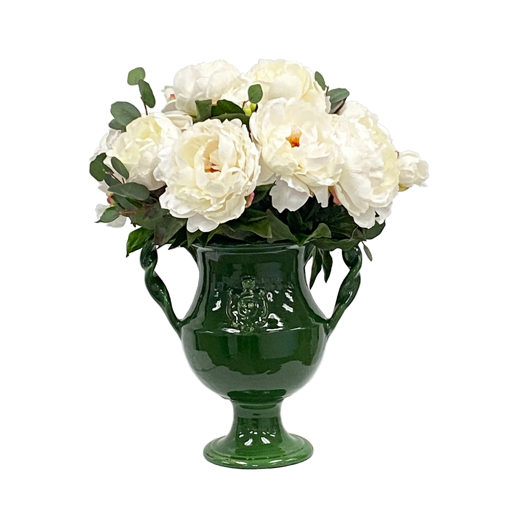 PEONY IN RUTHERFORD URN 20""