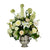 HYDRANGEA ALLIUM IN VASE (WHICON20-WHGR)