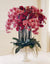 PHALAENOPSIS IN PEDESTAL BOWL (WHWWH111-LVFU) - Winward Home silk flower arrangements