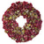 FAUX DRIED HYDRANGEA WREATH 24""