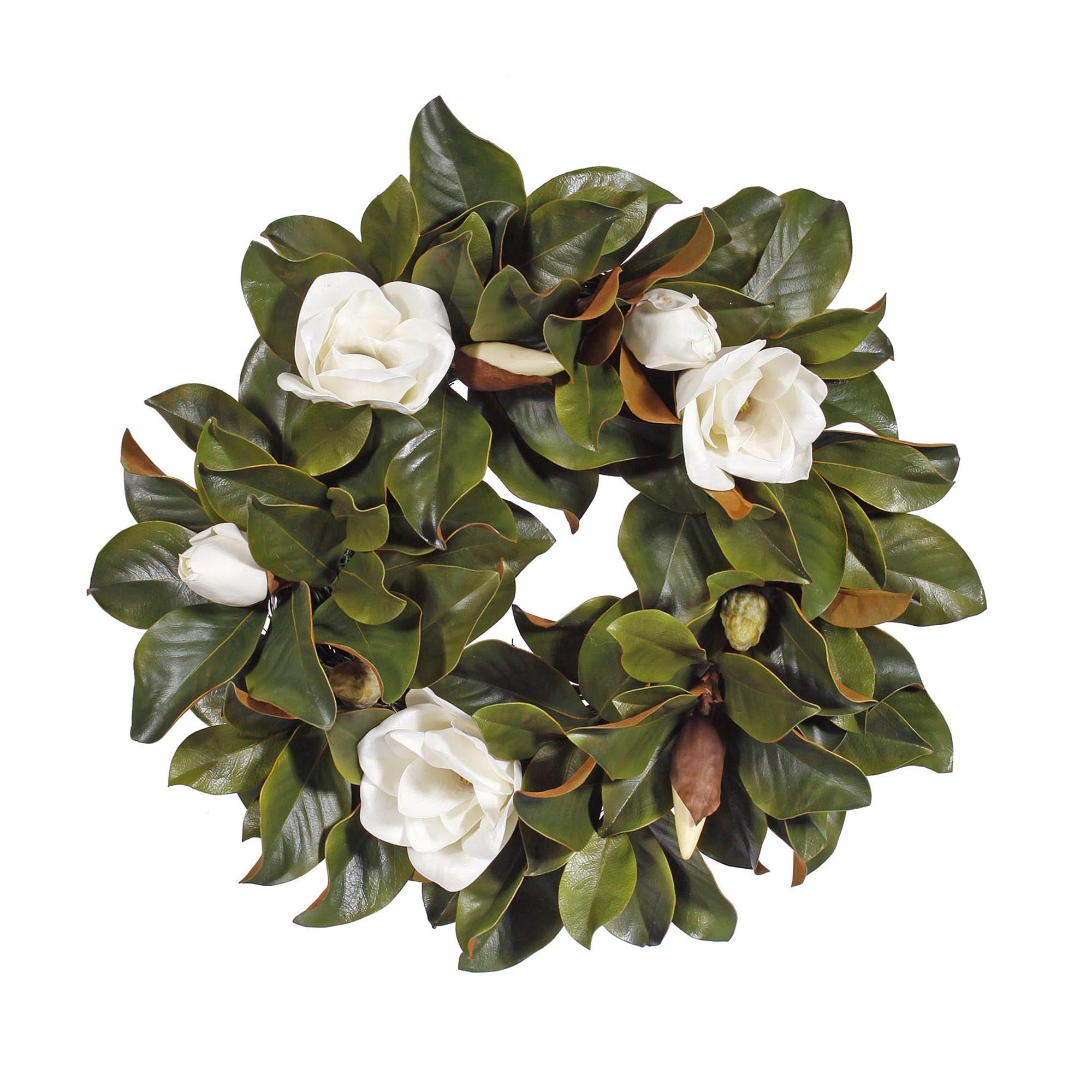 WREATH MAGNOLIA 24""