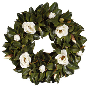 WREATH MAGNOLIA 30""