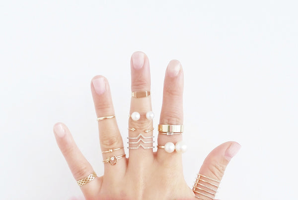 Meaning of wearing ring on pinky finger